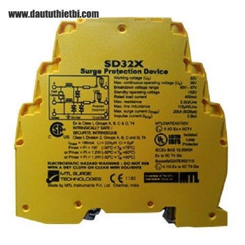 Thiết bị chống quá tải tín hiệu cho thiết bị và hệ thống điện tử  MTL SD32X