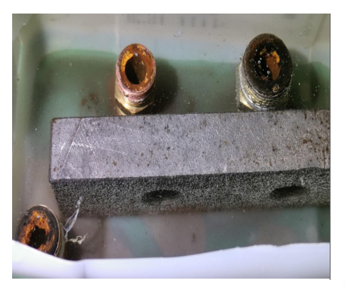Dung dịch tẩy rỉ sét đường nước của làm mát dầu của máy ép nhựa, máy đúc nhôm MIZUKEN