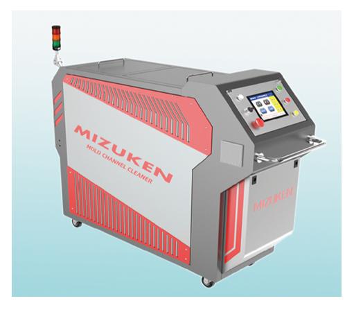 Máy tẩy rửa cặn bám cứng trong công nghiệp MIZUKEN