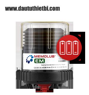 Thiết bị Bôi trơn tự động 1 điểm chống cháy nổ MEMOLUB® EM 10 bar 120 cm3 12-24 tháng MEMOLUB® EM xuất xứ Châu Âu