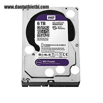 Ổ cứng lưu trữ Western Purple 6TB
