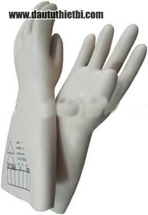 Găng tay cao su cách điện 35kv nhập từ Pháp