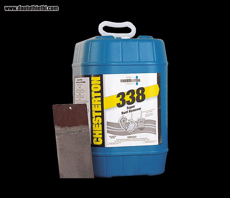 Hóa chất tẩy rửa rỉ gỉ chống cháy CHESTERTON 338 dạng can 20 lít