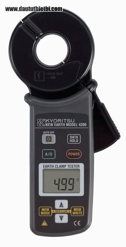 Đồng hồ đo điện trở đất dạng kẹp dòng: Kyoritsu 4202