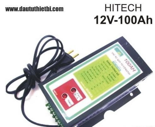 Sạc ắc quy 12v- 100Ah ,1A-10A Hitech