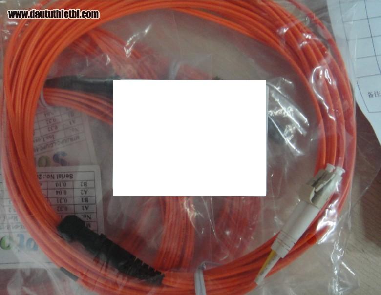 Dây nhảy quang LC/LC đơn mode loại 5m + Chiều dài 5 mét + Đường kính: 3 mm + Vỏ nhựa PVC