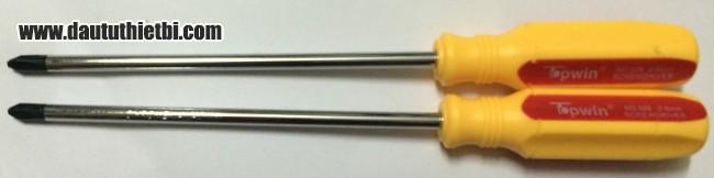 Tô vít 1 đầu nhọn Topwin 506-150 cỡ 6 x 150 mm