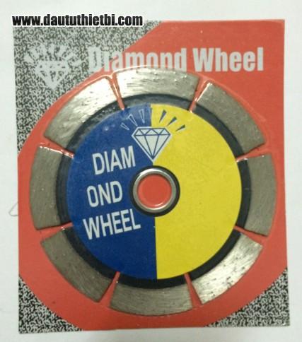 Lưỡi cắt gạch Diamond kích thước 150 x 16 x 2 mm