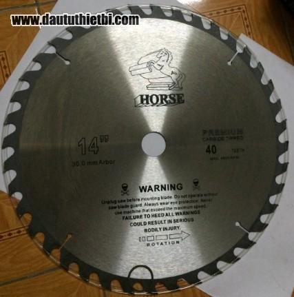 Đĩa dao cắt gỗ HORSE 14