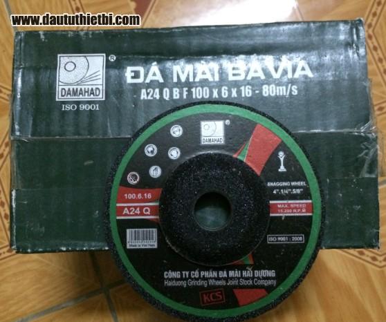 Đá mài thép inox đường kính 100, 125, 150 mm