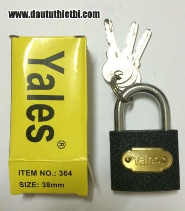 Khóa cửa bằng thép cỡ 38 mm YALES-364