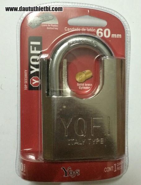 Khóa cửa chống cắt YQFI cỡ 60 mm