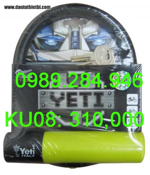 Khóa chữ U YETI YT-530 hàng cao cấp công nghệ Italy nhập Đài Loan