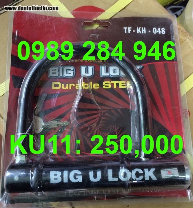 Khóa chữ U BIG U Lock thép hợp kim sản xuất tại Việt Nam