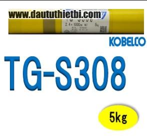Que hàn Tig Kobelco TGS-308L ER308L đường kính Ф 2.4 dài 1000 mm hàn thép inox 308L