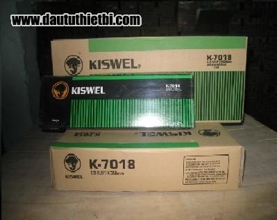 Que hàn K7018 Kiswel Malaysia AWS E7018 đường kính 2.6 mm