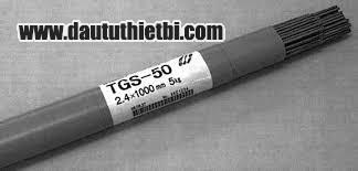 Que hàn TGS-50 Kobelco AWS ER70S-G đường kính 2.4 mm