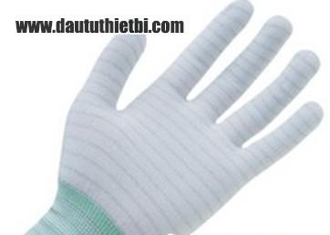Găng tay sợi chống tĩnh điện phòng sạch